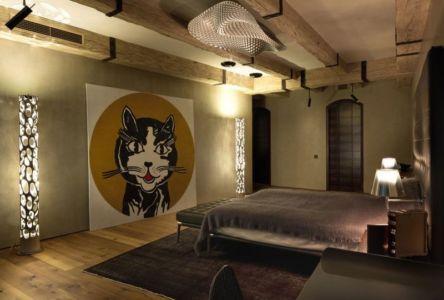 chambre secondaire - Residence-BO par Baraban+design studio - Kiev, Ukraine