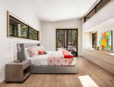 chambre secondaire - butterfly-house par Sagemodern - Californie, USA