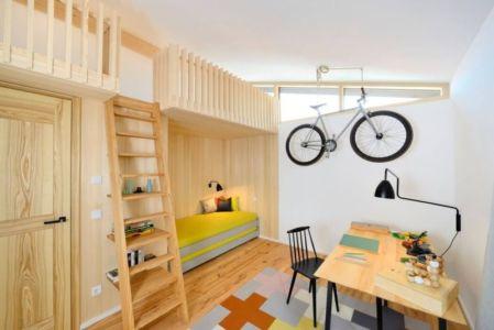 chambre secondaire enfant - alpine-residence par Bau-Fritz - Munich, Allemagne