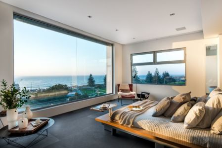 chambre - uneTrigg-Residence par Hiliam Architects - Trigg WA, Australie