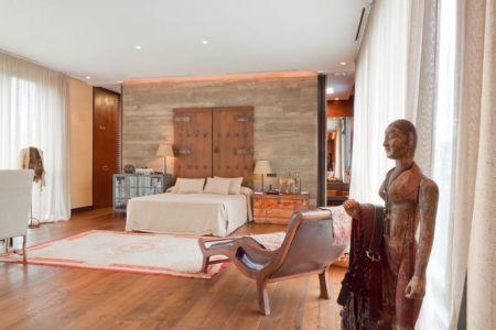 chambre - villa-madrid par Modern Homes - Madrid, Espagne