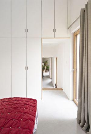 chambre - vlb-maison-bbc par Detroit Architectes - Verrières-le-Buisson, France