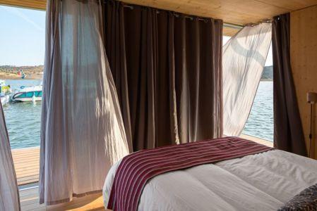 chambre & vue extérieure - floating-house par Friday - Portugal