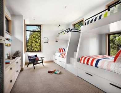 chambres enfants - butterfly-house par Sagemodern - Californie, USA