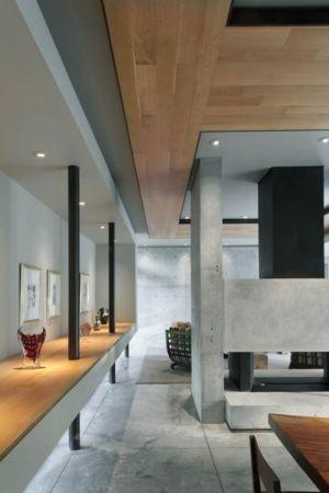 cheminée - Bray's Island SC Modern II par SBCH Architects - Sheldon, Usa