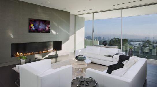 cheminée - Sarbonne par McClean Design - Los Angeles, Usa