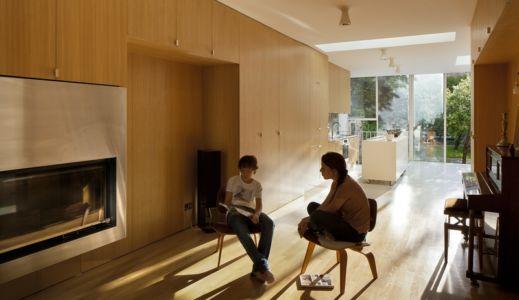 cheminée - maison - Atelier Zundel Cristea- Photo Sergio Grazia - France