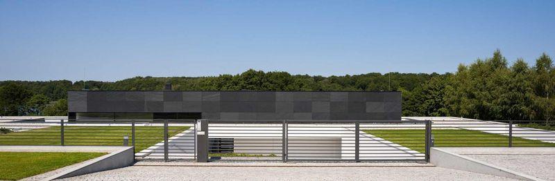 clôture bâtiment - Nemo-house par Mobius Architects - lac Mazurie, Pologne