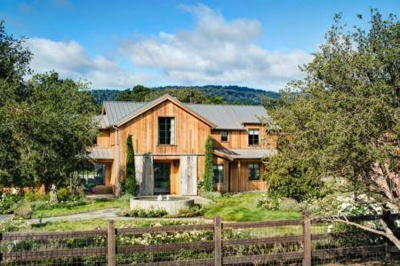clôture bois & façade jardin - Triple-L-House par SDG Architecture - San Francisco, USA