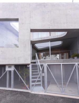 entrée et portail garage - g-house par Esau Acosta - El Sauzal, Espagne