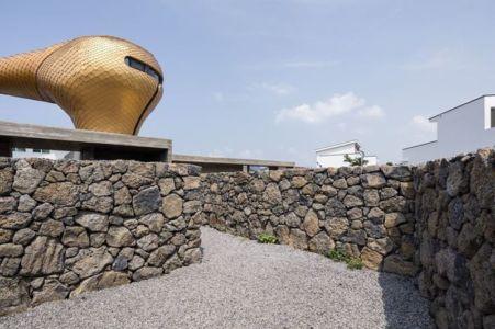 muerets en pierres - Wind-House par Moonbalsso - Jesu Island, Corée du Sud