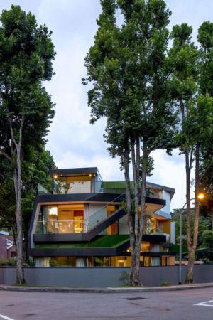 clôture principale - Trevose-House par Ad-Lab - Singapour