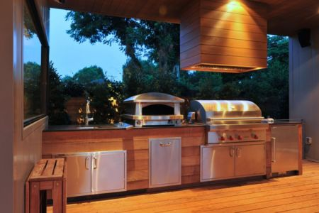 coin barbecue - Underwood House par StudioMET - Houston, Usa