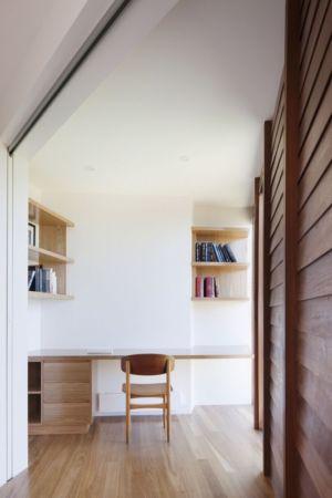 coin bureau - Aireys House par Byrne Architects -  Aireys Inlet, Australie