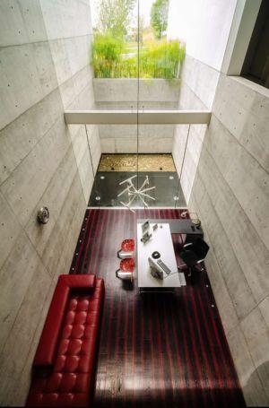 coin bureau - JRB House par Reims Arquitectura - Santa Domingo, Mexique