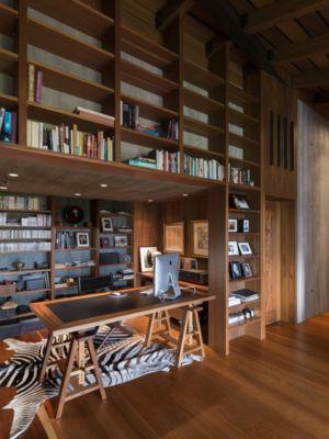 coin bureau bibliothèque - Bakkaflöt 14 par Studio Granda - Islande