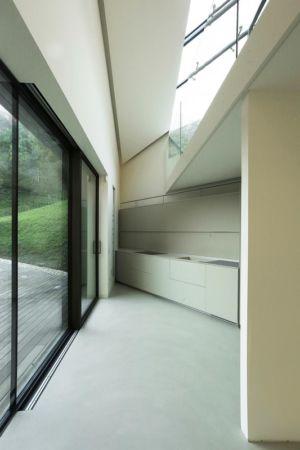 coin cuisine - Alps Villa par Camillo Botticini Architect - Brescia, Italie