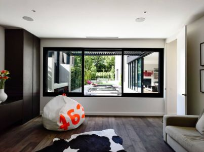 coin détente - Kew House par Amber Hope Design - Melbourne, Australie