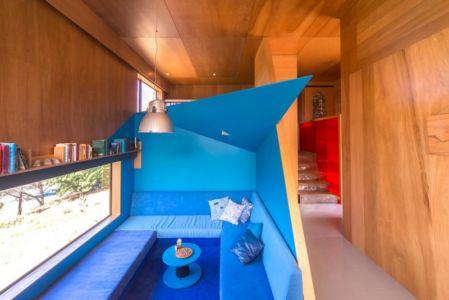 coin détente - Southern outlet house par Philip M-Dingemanse - Launceston, Australie - photo Jonathan Wherrett