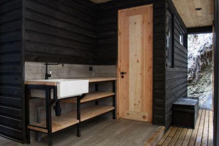 kitchinette - House-Todos-Los-Santos par Apio Arquitectos - Puerto Montt, Chili