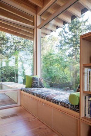 banquette - bunny-lane par Heliotrope-Architects - Washington, USA