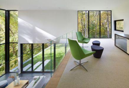 coin repos étage supérieur - Hills-House par Robert M. Gurney - Maryland, USA