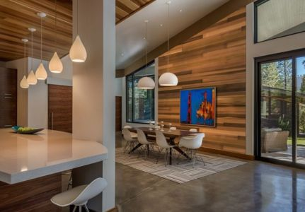 coin séjour - Flight House in Martis Camp par Sage Architecture - Truckee, Usa