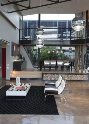 coin salon - House Tsi par Nico van der Meulen Architects - Afrique du Sud