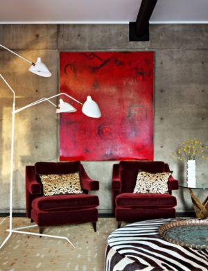 coin salon - La Cañada Residence par Jamie Bush & Co. - Sierra Madre, Usa