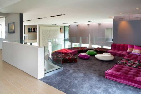 coin sofa - Sands Point Residence par Narofsky Architecture - Long Island, Usa