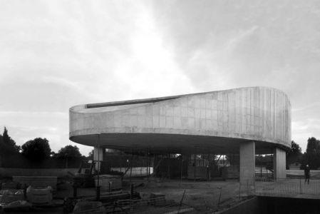 construction - Casa Balint par Fran Silvestre Arquitectos - Valence, Espagne