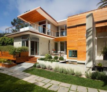 contemporary container house par Architect Heather Johnston - La Jolla, Californie, USA