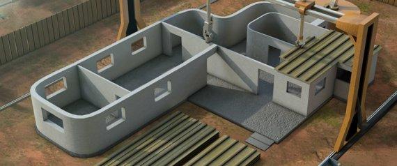 contour crafting maquette