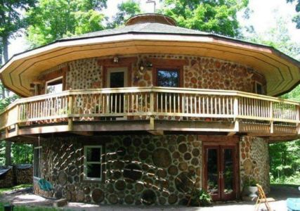 cordwood construction, Usa
