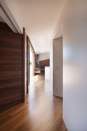 couloir - Aireys House par Byrne Architects -  Aireys Inlet, Australie