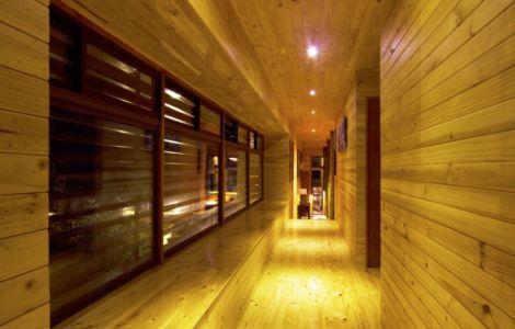 couloir - Casa Tunquén par CO2 Arquitectos - Vaparaiso, Chili