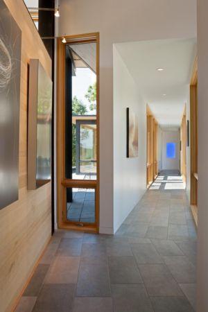 couloir - Piedmont Residence par Carlton Architecture - Asheville, Usa