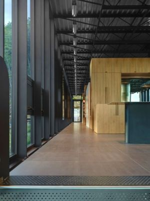 couloir - Shokan-House par Jay Bargmann - New York, USA