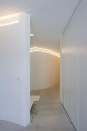 couloir - Villa-MQ par Office O architects - Belgique