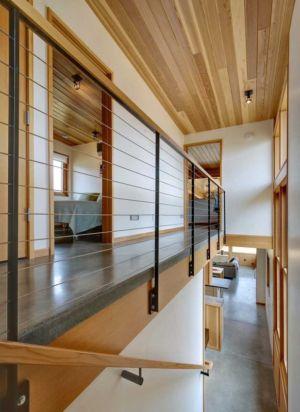 couloir étage - Nahahum Canyon House par Balance Associates - Nahahum Canyon, Usa