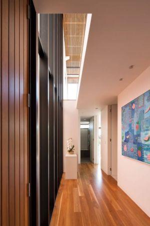 couloir étage - Queenscliff-Design par Watershed Design - Sydney, Australie