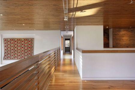 couloir étage - RiverBanks par Foz Design - Saugerties, Usa