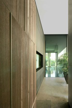 couloir accès étage- desert-rose par Massimiliano Camoletto - Koweit.
