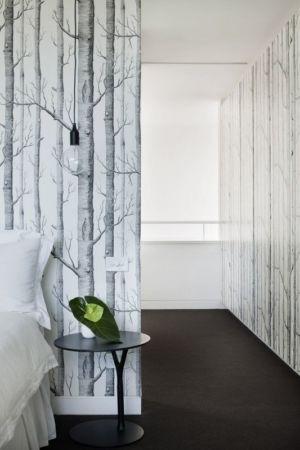 couloir accès chambre - white cube par Matt Gibson Architecture - Melbourne, Australie