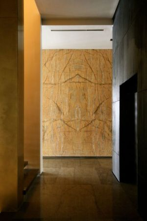 couloir accès escalier- desert-rose par Massimiliano Camoletto - Koweit.