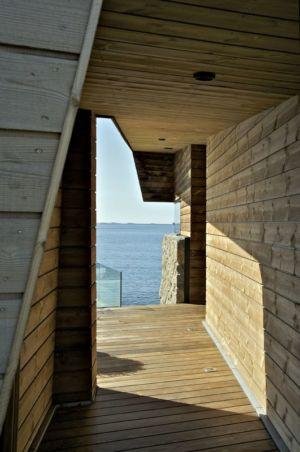 couloir accès intérieur - Summer-House par JVA - Vestfold, Norvège