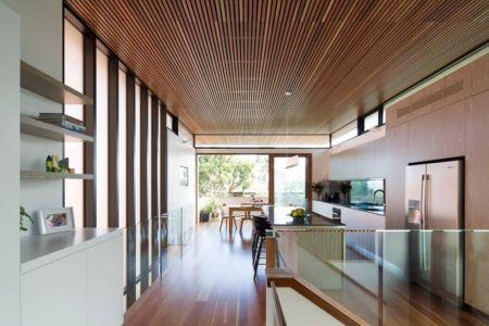 couloir accès séjour & cuisine - Queenscliff-Design par Watershed Design - Sydney, Australie