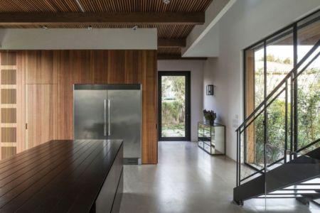 couloir entrée - NS-Residence par Blatman Cohen Architects - Netanya, Israël