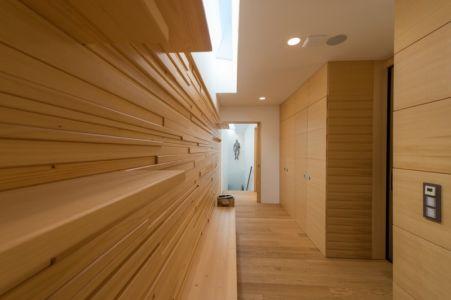 couloir et placards - Villa M par Oliver Grigic - Cepin, Croatie