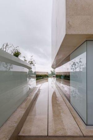 balcon terrasse - Club-Residence par Migdal Arquitectos - Mexico, Mexique